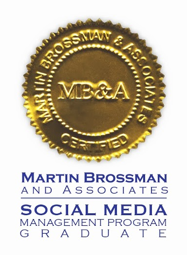 Social Media Management Program Graduate Seal from MB&A