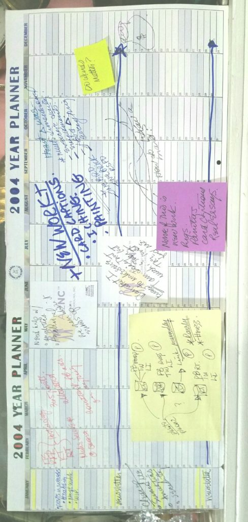 2004 Year View Planner.